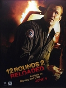 12 Rounds: Reloaded - Video release movie poster (xs thumbnail)