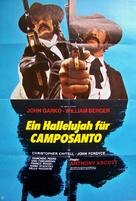 Gli fumavano le Colt... lo chiamavano Camposanto - German Movie Poster (xs thumbnail)