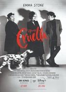 Cruella - German Movie Poster (xs thumbnail)