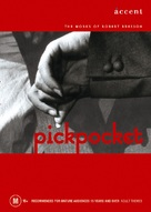 Pickpocket - Australian DVD movie cover (xs thumbnail)