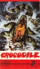 Crocodile - Greek VHS cover (xs thumbnail)