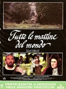 Tous les matins du monde - Italian poster (xs thumbnail)