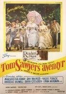 Tom Sawyer - Swedish Movie Poster (xs thumbnail)