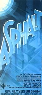 Asphalt - German Movie Poster (xs thumbnail)