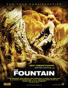The Fountain - For your consideration poster (xs thumbnail)