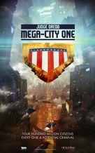 """""""Judge Dredd: Mega City One"""" - Movie Poster (xs thumbnail)"""