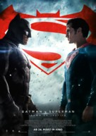 Batman v Superman: Dawn of Justice - German Movie Poster (xs thumbnail)