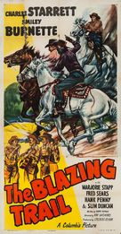 The Blazing Trail - Movie Poster (xs thumbnail)