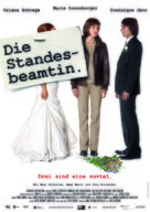 Die Standesbeamtin - German Movie Poster (xs thumbnail)