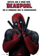 Deadpool - Romanian Movie Poster (xs thumbnail)