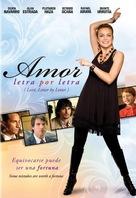 Amor letra por letra - DVD movie cover (xs thumbnail)