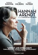 Hannah Arendt - DVD cover (xs thumbnail)