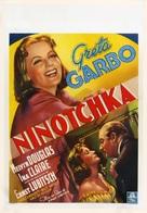 Ninotchka - Belgian Movie Poster (xs thumbnail)