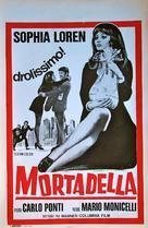 La mortadella - Belgian Movie Poster (xs thumbnail)