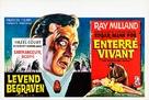 Premature Burial - Belgian Movie Poster (xs thumbnail)