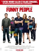 Funny People - French Movie Poster (xs thumbnail)