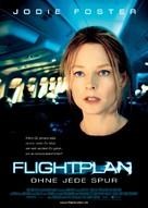 Flightplan - German Movie Poster (xs thumbnail)