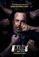 Nobody - Spanish Movie Poster (xs thumbnail)