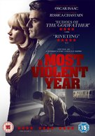 A Most Violent Year - British DVD movie cover (xs thumbnail)