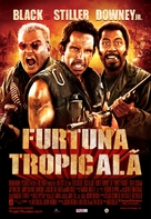 Tropic Thunder - Romanian Movie Poster (xs thumbnail)