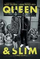 Queen & Slim - British Movie Poster (xs thumbnail)