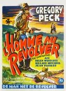 The Gunfighter - Belgian Movie Poster (xs thumbnail)