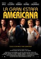 American Hustle - Spanish Movie Poster (xs thumbnail)