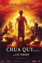 The Golem - Vietnamese Movie Poster (xs thumbnail)