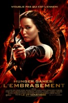The Hunger Games: Catching Fire - Belgian Movie Poster (xs thumbnail)