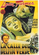 Green Dolphin Street - Spanish Movie Poster (xs thumbnail)