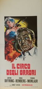 Circus of Horrors - Italian Movie Poster (xs thumbnail)