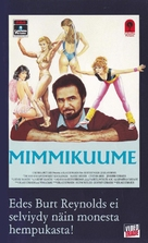 The Man Who Loved Women - Finnish VHS movie cover (xs thumbnail)