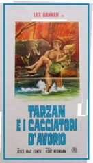 Tarzan and the She-Devil - Italian Movie Poster (xs thumbnail)
