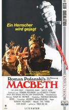 The Tragedy of Macbeth - German VHS cover (xs thumbnail)
