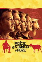 The Men Who Stare at Goats - Slovenian Movie Poster (xs thumbnail)