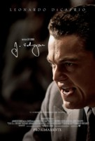 J. Edgar - Mexican Movie Poster (xs thumbnail)