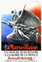 La marseillaise - French Movie Poster (xs thumbnail)
