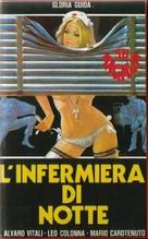 L'infermiera di notte - Italian VHS cover (xs thumbnail)