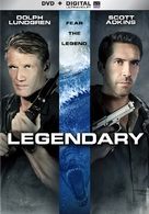 Legendary: Tomb of the Dragon - DVD cover (xs thumbnail)