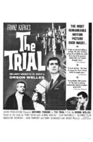 Le procès - Theatrical movie poster (xs thumbnail)
