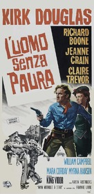 Man Without a Star - Italian Movie Poster (xs thumbnail)