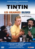 Tintin et les oranges bleues - French DVD cover (xs thumbnail)