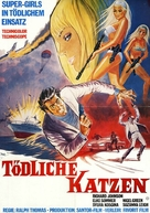 Deadlier Than the Male - German Movie Poster (xs thumbnail)