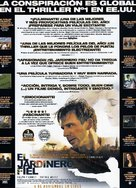 The Constant Gardener - Spanish Movie Poster (xs thumbnail)