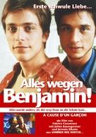 À cause d'un garçon - German Movie Poster (xs thumbnail)