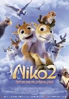 Niko 2: Lentäjäveljekset - Spanish Movie Poster (xs thumbnail)