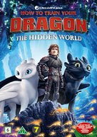 How to Train Your Dragon: The Hidden World - Danish DVD movie cover (xs thumbnail)