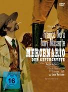 Il mercenario - German DVD cover (xs thumbnail)