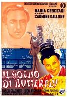 Il sogno di Butterfly - Italian Movie Poster (xs thumbnail)