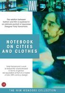 Aufzeichnungen zu Kleidern und Städten - Danish DVD cover (xs thumbnail)